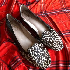 Vince Camuto Shoes - Vince Camuto Cheetah and sparkle flats